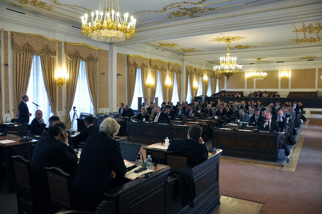 Z konference Vysokorychlostní železnice 2014, Poslanecká sněmovna PČR