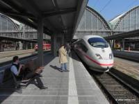 Ilustrační foto: Rychlovlak ICE 3 na hlavním nádraží ve Frankfurtu nad Mohanem