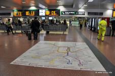 Ilustrační foto: Praktické řešení plánu linek příměstské železnice, Madrid Chamartín, Španělsko