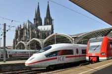 Ilustrační foto: Rychlovlak ICE ve stanici Kolín nad Rýnem, Německo