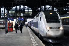 Rychlovlak TGV firmy Alstom v Basileji, Švýcarsko