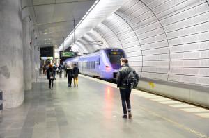 Podzemní železniční stanice Malmö Triangeln
